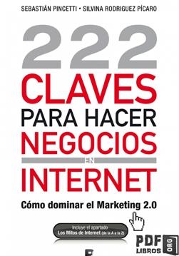 Libro PDF: 222 claves para hacer negocios en internet