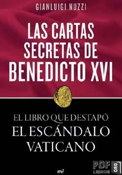 Libro PDF: Las cartas secretas de benedicto XVI