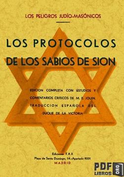 Libro PDF: Los protocolos de los sabios de sion