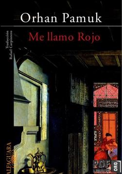 Libro PDF: Me llamo Rojo